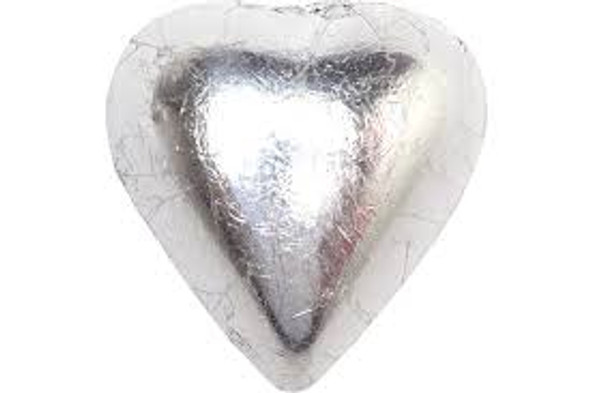 silver heart chocolate 1kg
