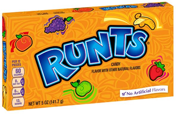runts candy theatre box
