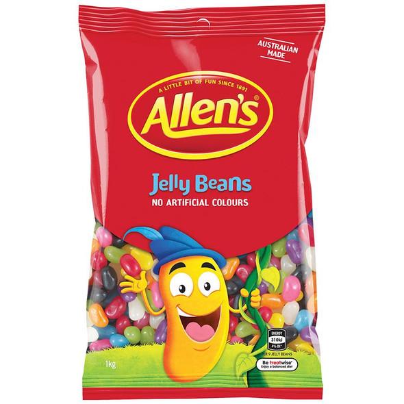 allens jelly beans bulk 1kg bag wholesale confectionery