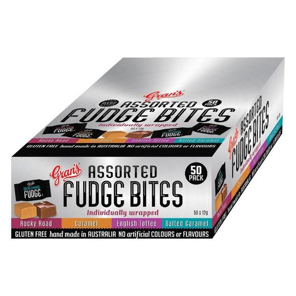 assorted fudge bites Gran's