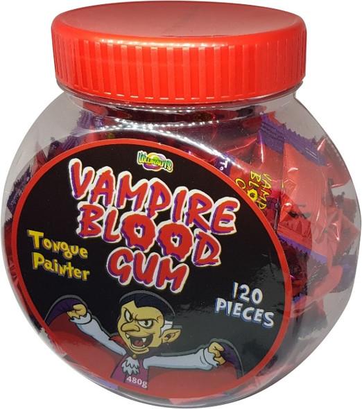 vampire blood gum bottle