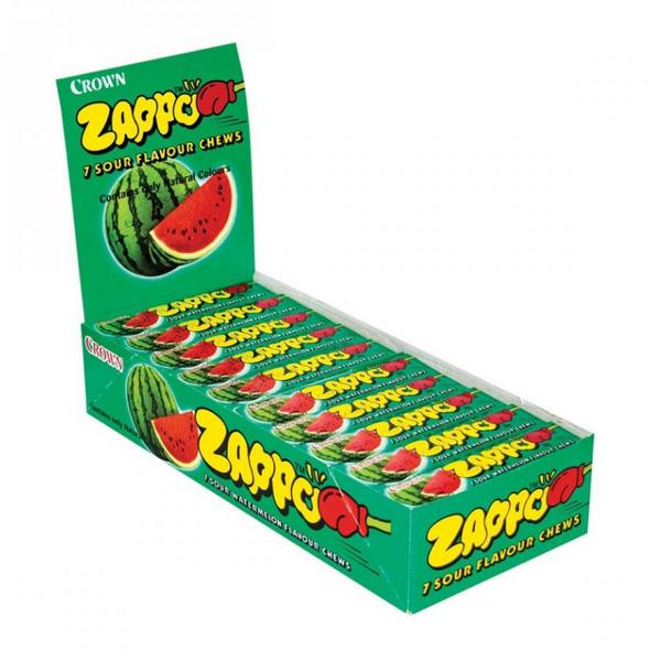 zappo watermelon sour chew