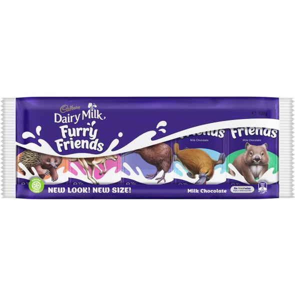 Cadbury furry friends 100g pack of 5