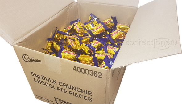 Cadbury Crunchie 5kg treat size