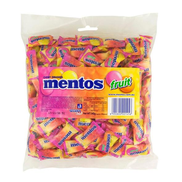 mentos pillow bag fruit