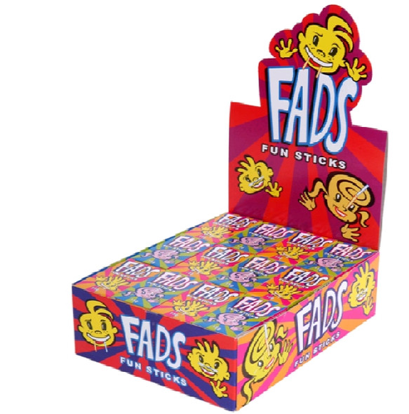 fads fun sticks display box