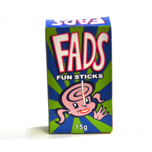fads single packets lollies