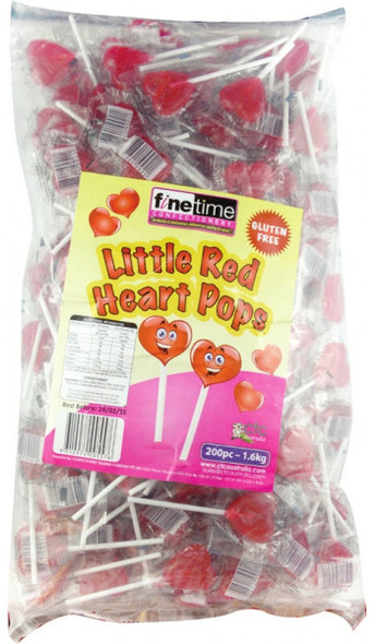 little red heart pops 1.6kg