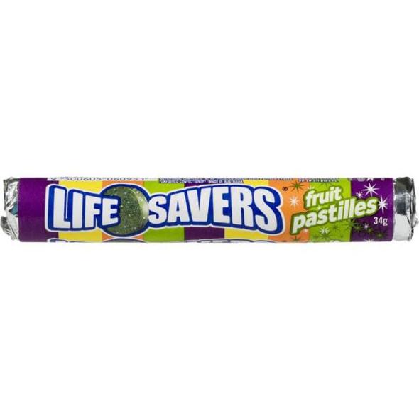 fruit pastilles lifesavers roll