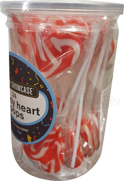 swirly hearts pops red