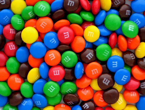 M&M's bulk milk chocolate
