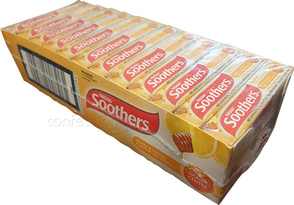 Soothers Honey Centre 36 packs x 10 lozenges
