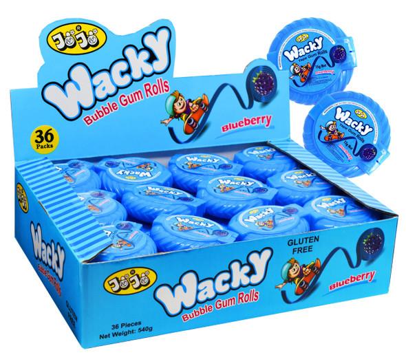 wacky blueberry gum tape jojo