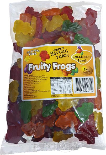 Fruity Frogs Lolliland 1kg