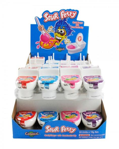 sour potty pop cosmic 24 x 19g