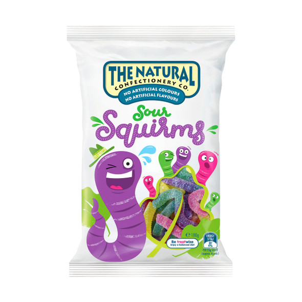 squirm sour 180g natural