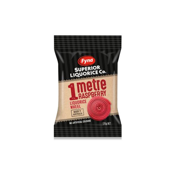 Metre of  red liquorice 1m single