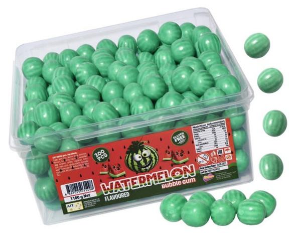 Watermelon Bubblegum bubble gum balls