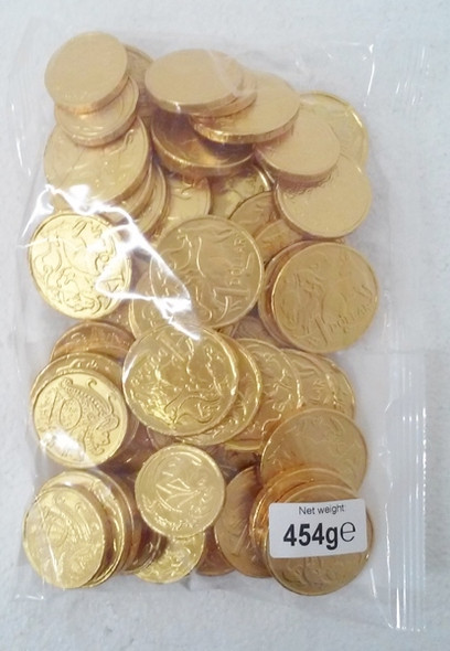 Gold coins 454g