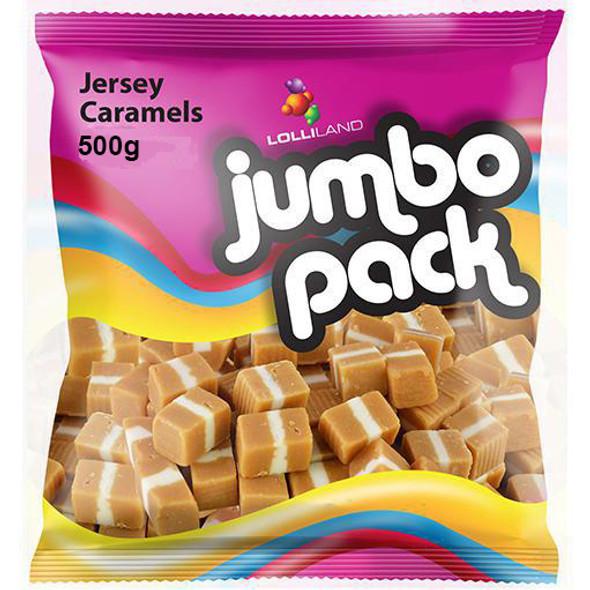 jersey caramels 500g