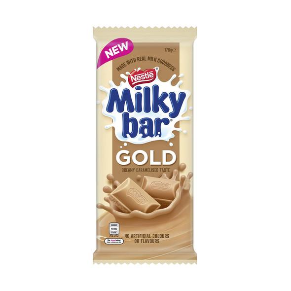 milky bar gold block 170g