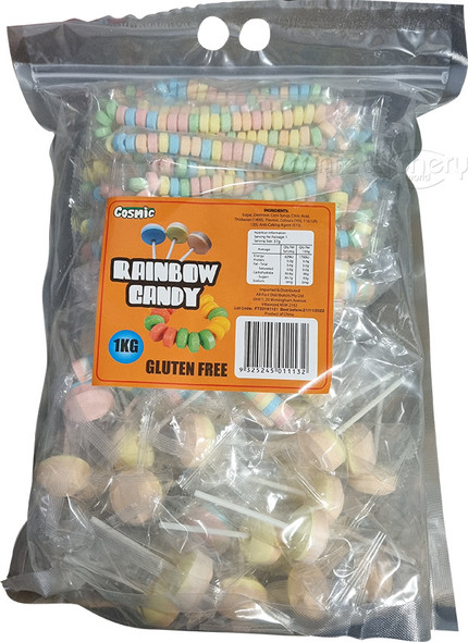 assorted rainbow candy