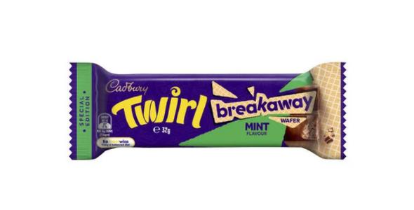 Cadbury Twirl MINT Breakaway