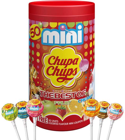 Chupa Chups 50 Mini Pops