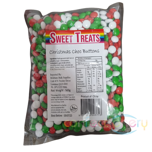 xmas buttons 500g