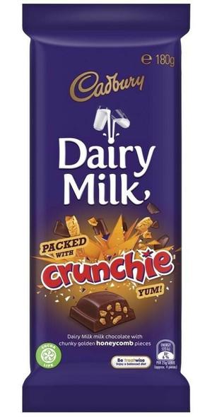 cadbury crunchie block
