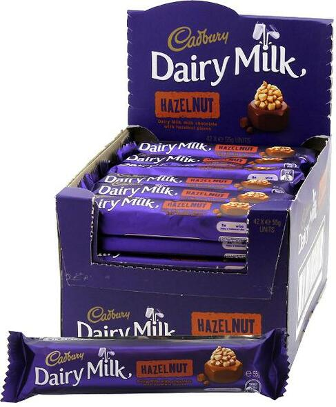 cadbury hazelnut box