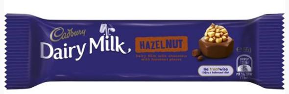 cadbury hazelnut single bar