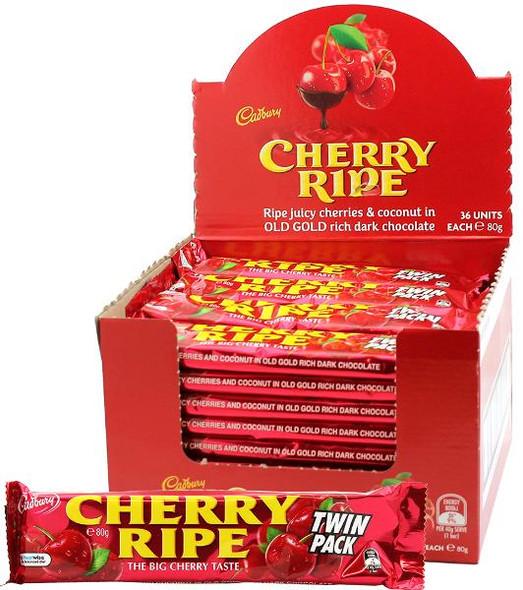Cherry Ripe Twin Pack display box
