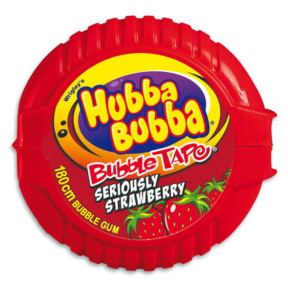 Hubba Bubba Strawberry Tape