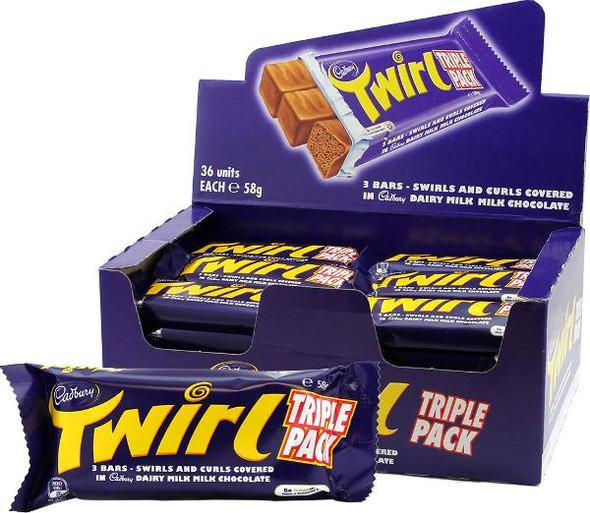 Cadbury Twirl Triple