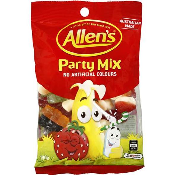 Allens Party Mix 190g