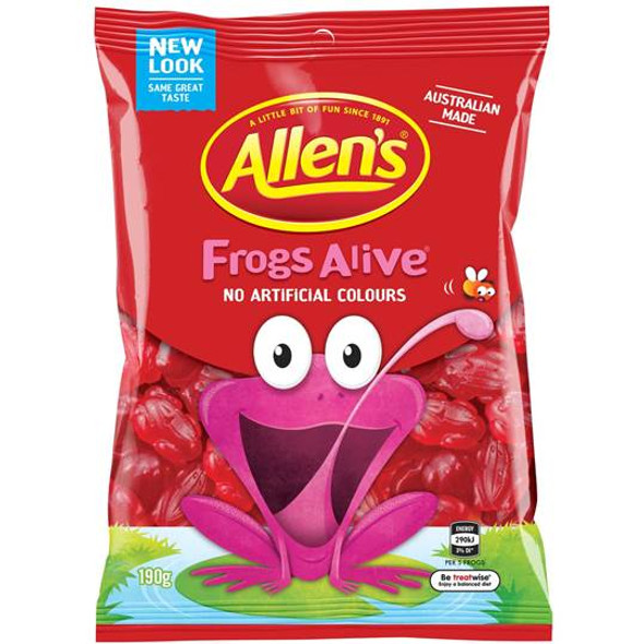 Allens Frogs Alive 12 x 190g