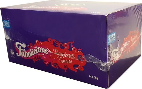 wonka raspberry twister 2 pack 40g RJ's
