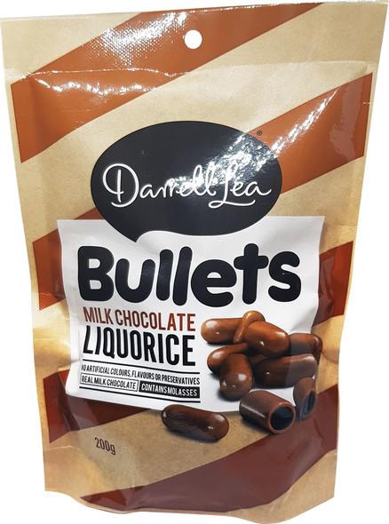 Darrell Lea licorice bullets