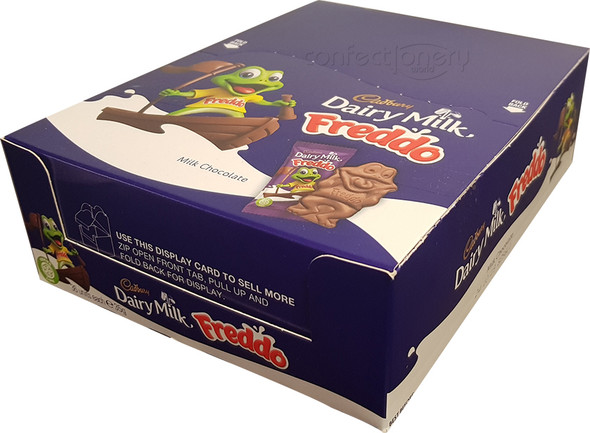 Cadbury giant plain milk chocolate freddo frog