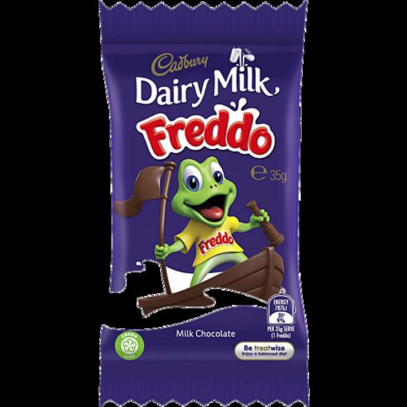 freddo plain giant 35g frog  cadbury