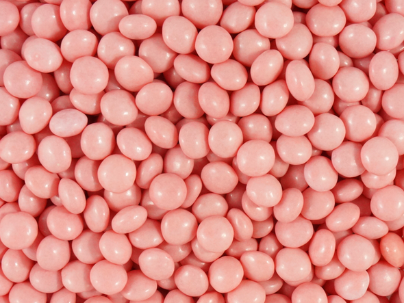 pink candy chews