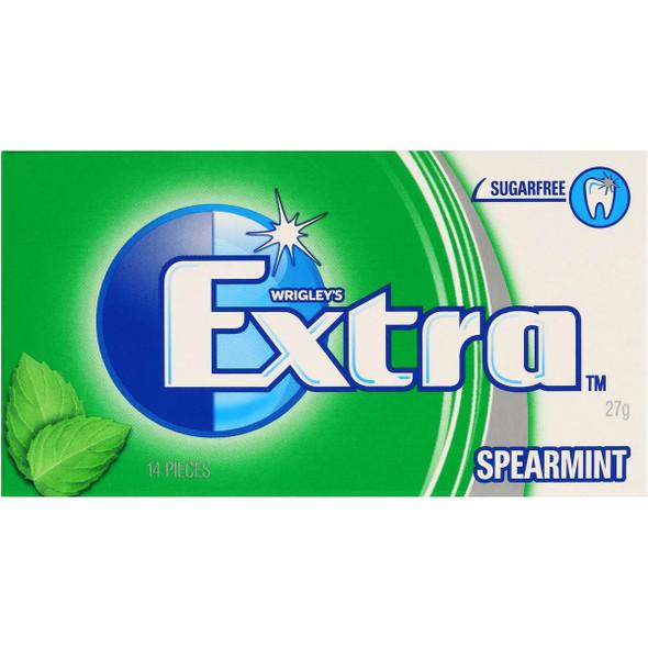 wrigleys extra spearmint envelope chewing gum