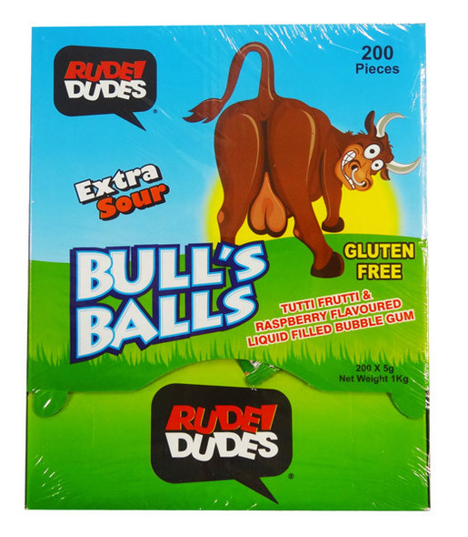 Rudee dude bull's balls