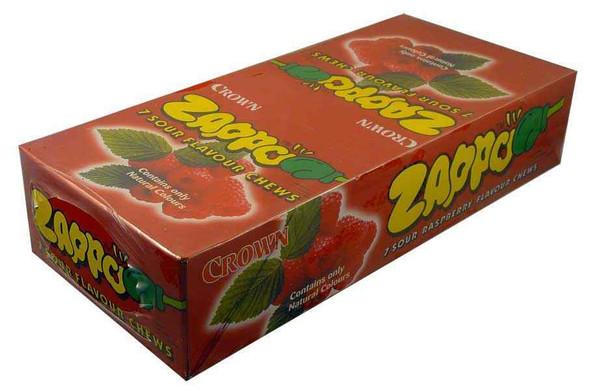 Raspberry flavoured zappo