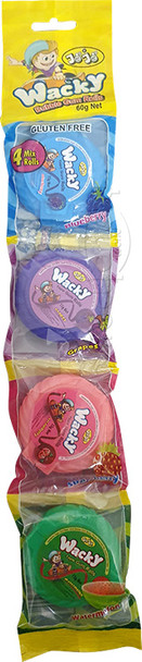 Wacky Gum 4pk