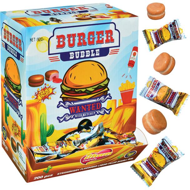 Burger Bubble Gum Balls ilham