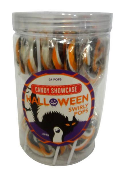 Halloween swirly pops