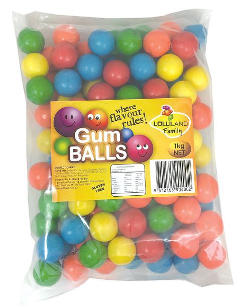lolliland gum balls 1kg