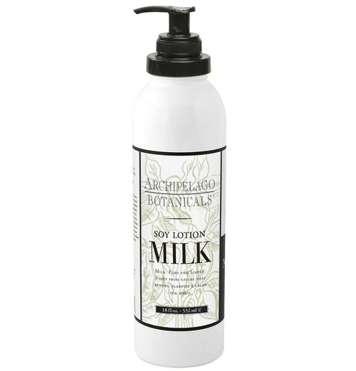 Soy Milk 18oz Body Lotion by Archipelago Botanicals